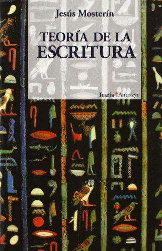 9788474261998: Teória de la escritura (Antrazit) (Spanish Edition)