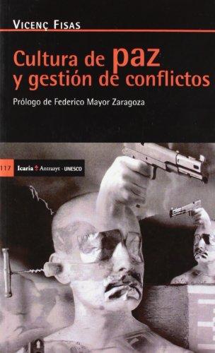 9788474263572: Cultura de paz y gestión de conflictos