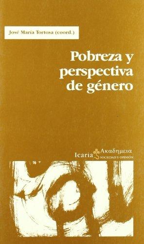 POBREZA Y PERSPECTIVA DE GÉNERO: JOSÉ MARÍA TORTOSA
