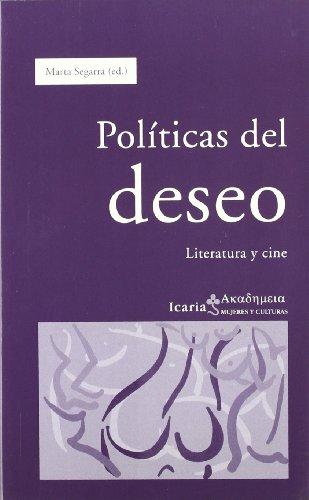 9788474269055: Políticas del deseo : literatura y cine
