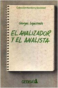 9788474320794: El analizador y el analista