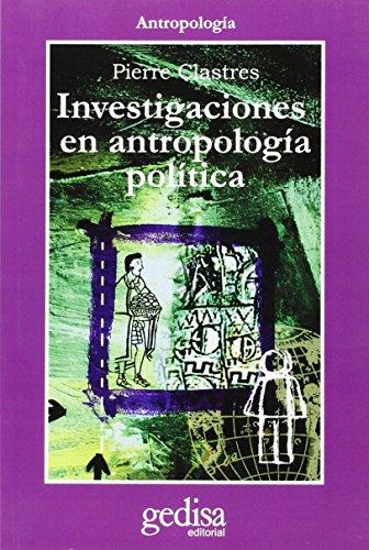 9788474321180: Investigaciones En Antropologia Politica (Spanish Edition)