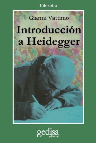 9788474322545: Introducción A Heidegger