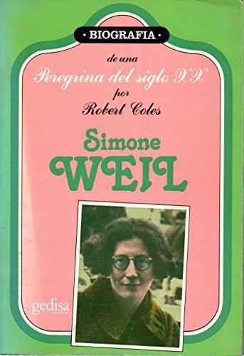 9788474323542: Simone weil.