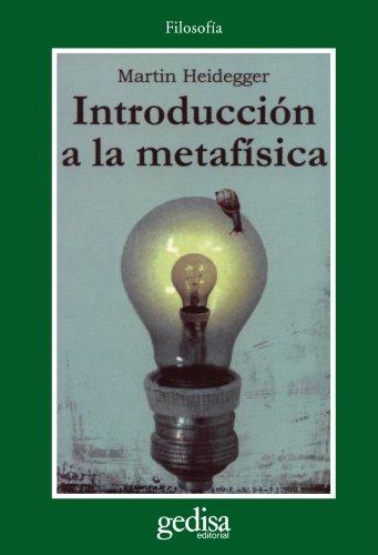 9788474324211: Introduccion a La Metafisica (Cla-de-ma) (Spanish Edition)