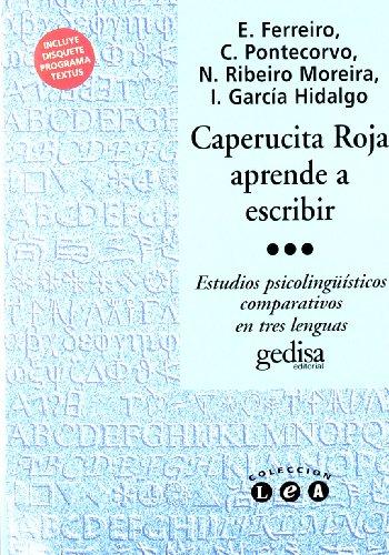 9788474325331: Caperucita Roja Aprende a Escribir (Spanish Edition)