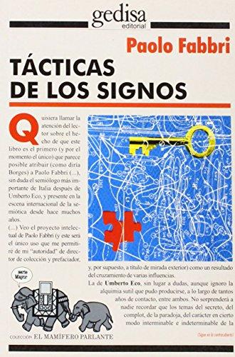 Tacticas de los Signos: Ensayos de Semiotica: Fabbri, Paolo