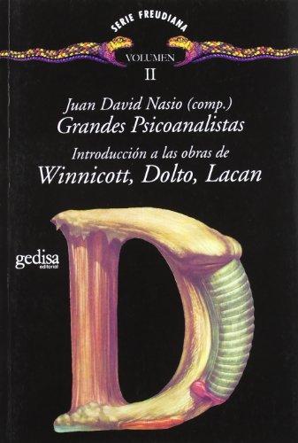 9788474325881: Grandes Psicoanalistas Vol. Ii (Serie Freudiana)