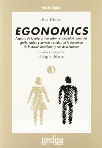 9788474326215: Egonomics (Cla-De-Ma)
