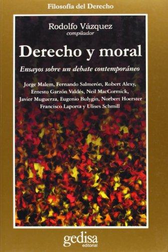 9788474326673: Derecho y moral