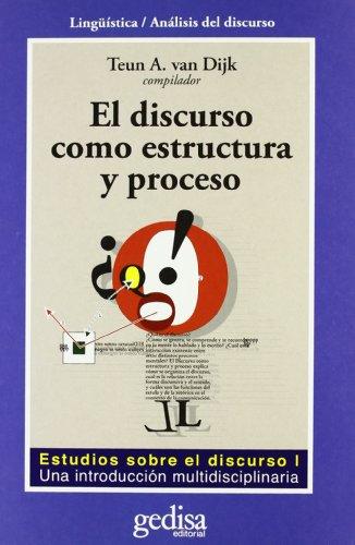 9788474327144: El Discurso Como Estructura Y Proceso (Spanish Edition)
