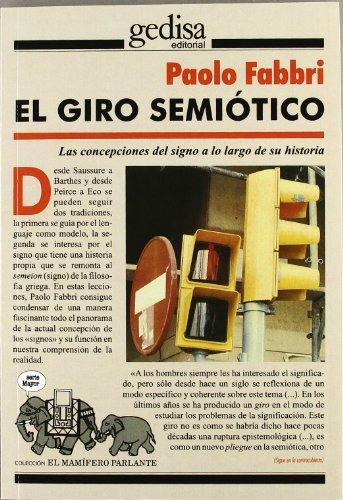 El giro semiótico (Paperback): Paolo Fabbri