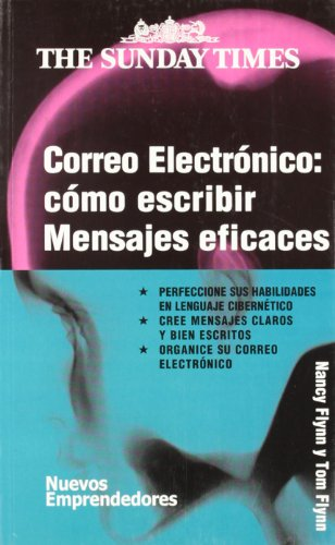 9788474328608: Correo electrónico: como escribir mensajes eficaces (Nuevos Emprendedores)