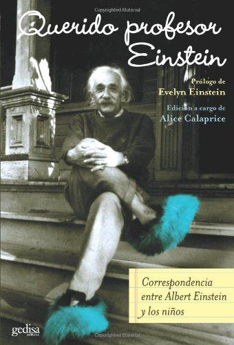 9788474328783: Querido Profesor Einstein