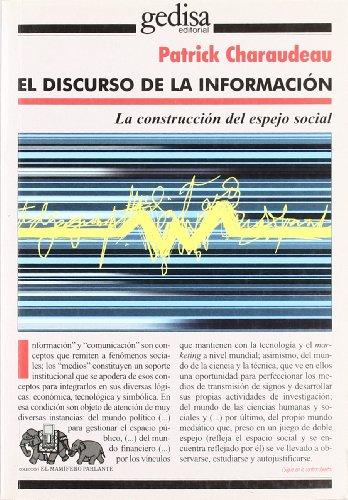 9788474329537: Discurso de la información mediática