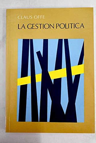 9788474347661: La gestión política