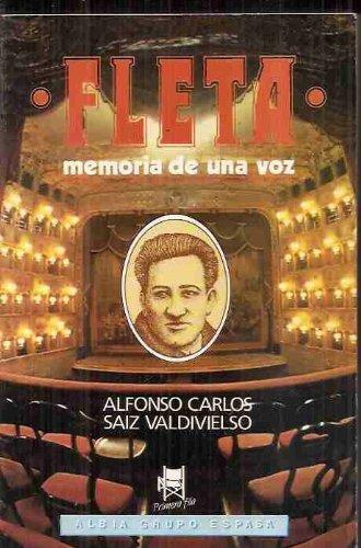 MIGUEL FLETA. Memoria de una voz: VALDIVIELSO SAIZ, Alfonso