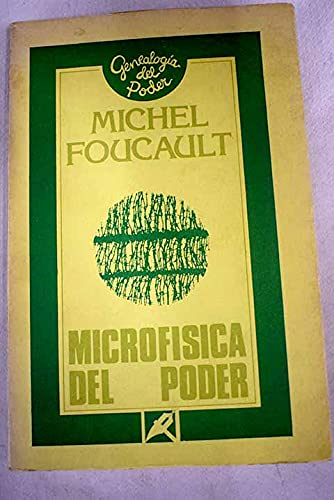 9788474430172: Microfisica del Poder (Spanish Edition)