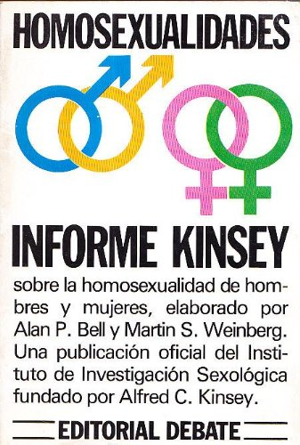 9788474440218: Homosexualidades : informe kinsey