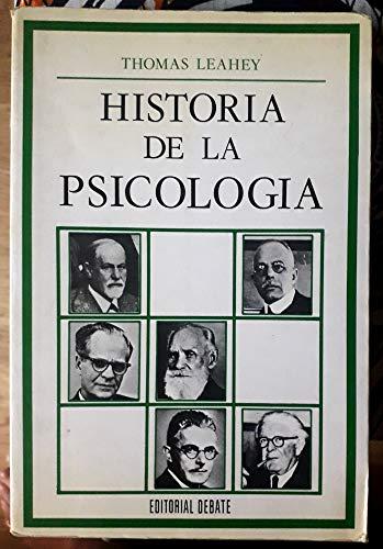 9788474440775: Historia de la psicologia