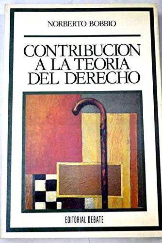 9788474444155: Contribucion a la teoria del derecho