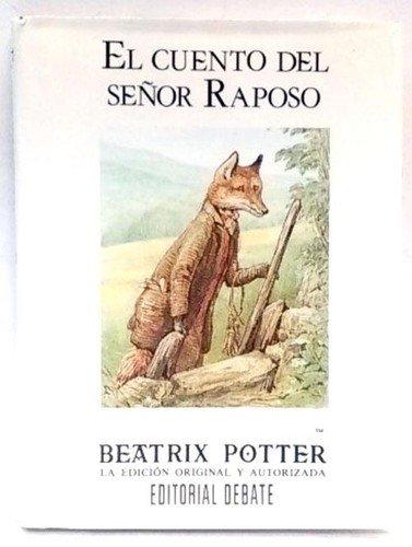 9788474445435: El Cuento Del Senor Raposo / The Tale of Mr. Tod (Spanish Edition)