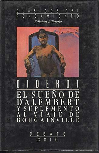 9788474445831: Sueño de d'alembert y suplemento al viaje de bougainville, el