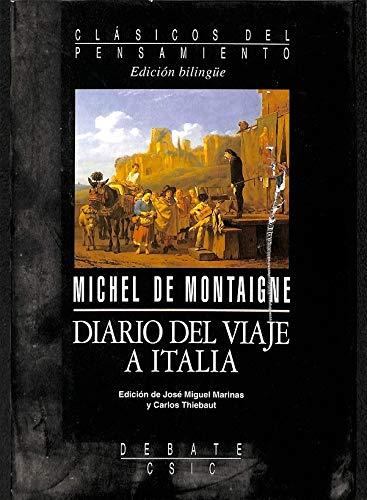 9788474448429: Diario del viaje a Italia