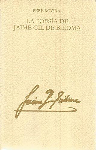 9788474563238: La poesia de Jaime Gil de Biedma (Llibres del mall) (Spanish Edition)
