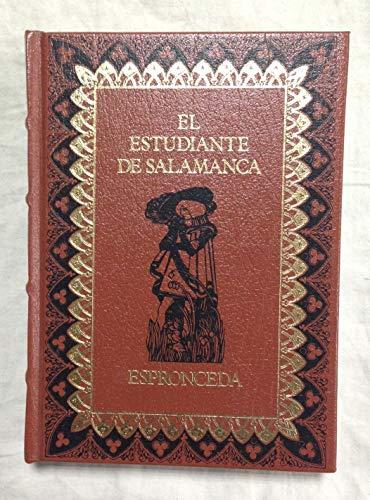 9788474612882: El estudiante de Salamanca