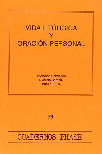 9788474674347: Vida litúrgica y oración personal (CUADERNOS PHASE)