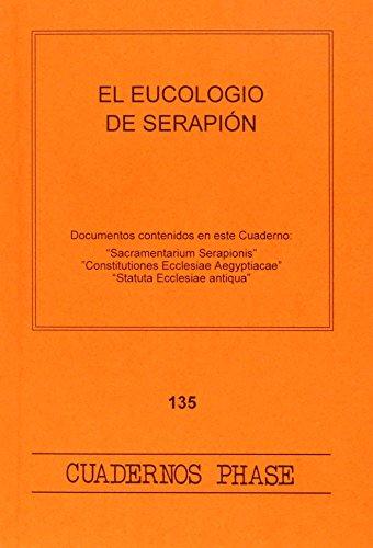 El eucologio de Serapión: VV.AA.