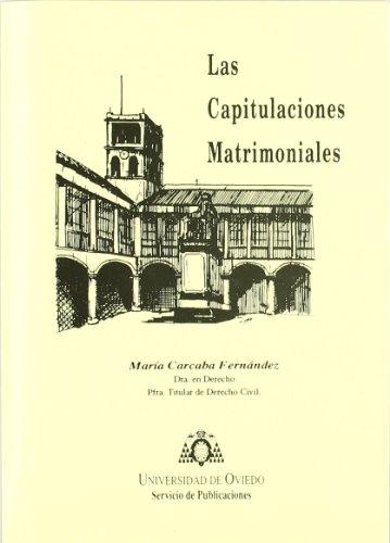 9788474687460: Las capitulaciones matrimoniales
