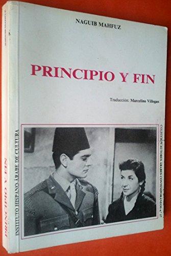 9788474720921: PRINCIPIO Y FIN