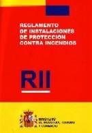 9788474749021: Rii : Reglamento de instalaciones de protección contra incendios (Leyes, normas y reglamentos)
