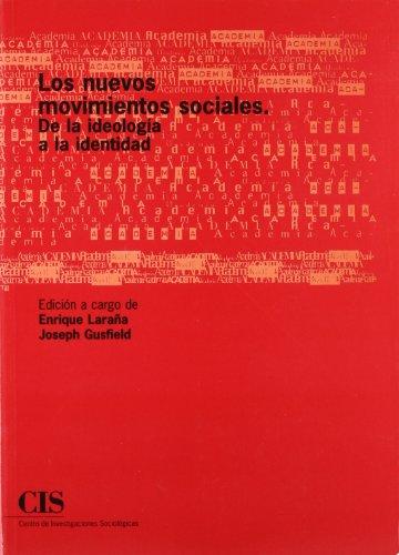 9788474762037: Los nuevos movimientos sociales: De la ideología a la identidad (Academia)