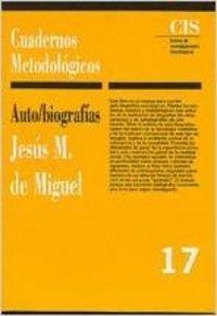 9788474762266: Autobiografías (Cuadernos Metodológicos)