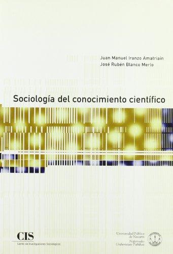 9788474762716: Sociología del conocimiento científico (Fuera de Colección)