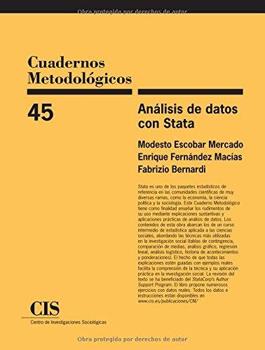 9788474764833: Análisis De Datos Con Stata (Cuadernos Metodológicos)
