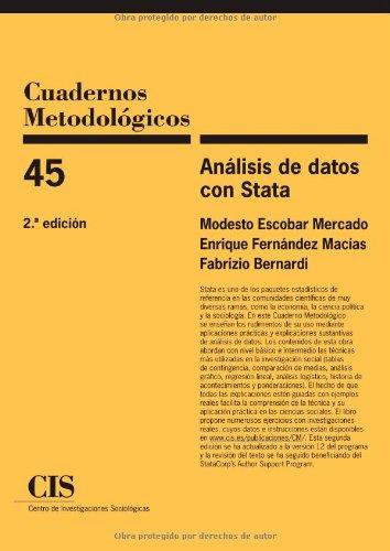9788474765885: Análisis de datos con Stata (Cuadernos Metodológicos)
