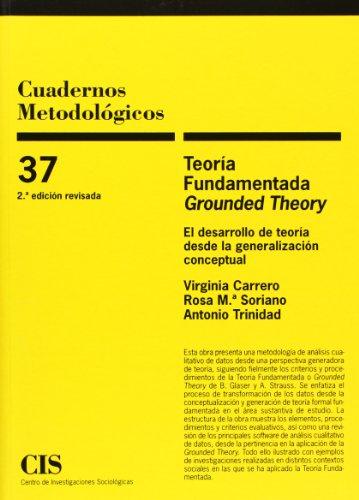 9788474766103: Teoría fundamentada