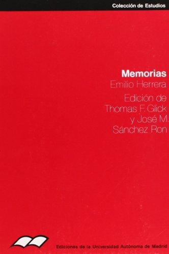 9788474771510: Memorias (Colección de estudios) (Spanish Edition)