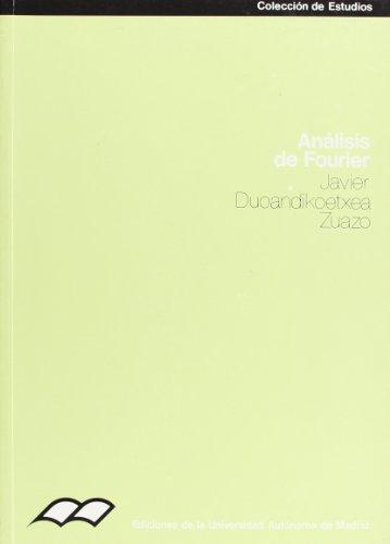 9788474773095: Análisis de Fourier (Colección de Estudios)