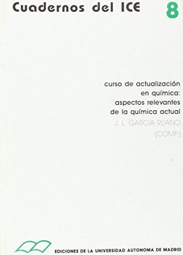 Curso de actualización en química : aspectos: comp.; García Ruano,