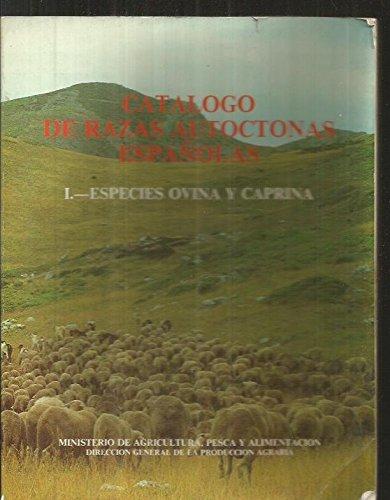 9788474790900: Catalogo de razas autoctonas españolas. especies ovino y caprina