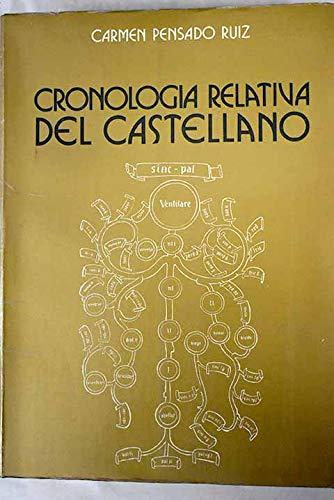 9788474813234: Cronología relativa del castellano (Acta Salmanticensia) (Spanish Edition)
