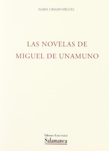 9788474814248: Las novelas de Miguel de Unamuno (Acta salmanticensia. filosof¸a y letras)