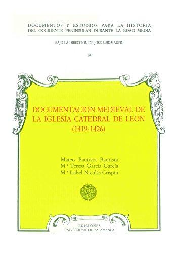 Documentación medieval de la iglesia catedral de: Nicolás Crispín, María