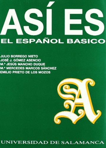 9788474816594: Así es el español básico