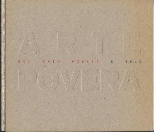 9788474833980: Del Arte Povera a 1985